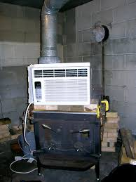 diy wood stove heat reclaimer do it your self