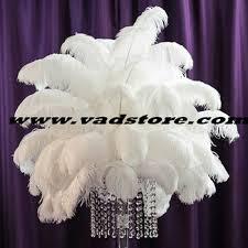 Ostrich Feather Centerpieces 40pcs Unit 12