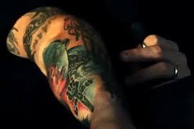 joker tattoo video corey taylor talks about his tattoos in video interview