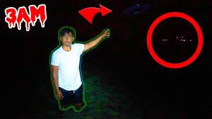 hunt aliens 3am creepy lights spotted