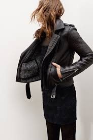 all black motorcycle jacket leather jacket wear grunge pinterest minimal classic maje