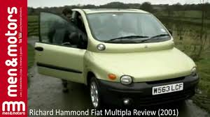 fiat multipla richard hammond fiat multipla review 2001 youtube