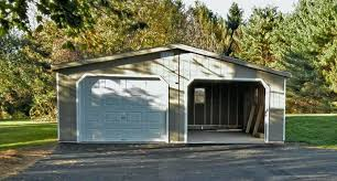 image of garage with apartment kit plansprefab studio prefab