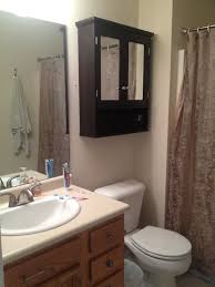 Wood Bathroom Medicine Cabinets With Mirrors Bathroom To Decor Small Bathroom With Grey Colors Awesome