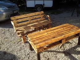 Table De Jardin En Palette by Table A Manger Exterieur En Palette Table De Jardin Aluminium