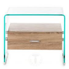 comodini in cristallo tavolini