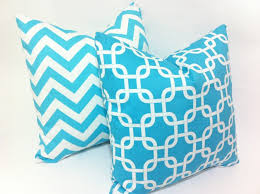 enchanting square turquoise linen turquoise accent pillows durable