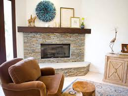 home decor stones decorating a stone fireplace mantel interior design