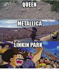 Metallica Meme - queen metallica linkin park ad meme on esmemes com