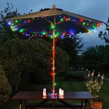 200led multicolour solar powered led fairy lights for garden