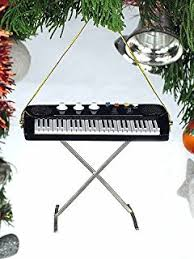 black drum set hanging ornament musical