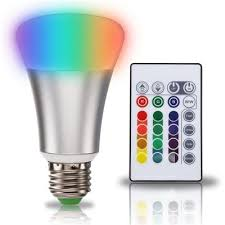 supli 10w timing remote controller rgb color changing led light