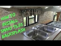 how to install a smart tiles backsplash youtube