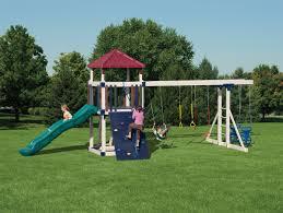 kid u0027s outdoor playsets kid u0027s vinyl swing sets adventure world