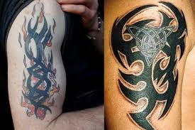 tribal arm tattoos designs ideas meaning me now