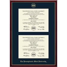 diploma frame penn state diploma frames psu gifts for alumni