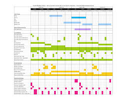 timeline for project management accounting system sample los