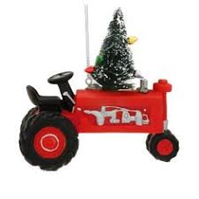 farmall resin tractor f series ornament holidays and