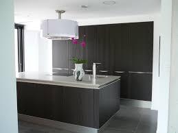 cuisine contemporaine en bois cuisine contemporaine bois foncé am architecture intérieur