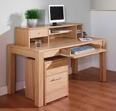 Computer Desk Oak Furniture Minimalist Couch Computer Desks Oak Wooden Computer