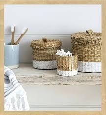 Baskets For Bathroom Storage Bathroom Basket Organizer View Larger Bathroom Storage Baskets