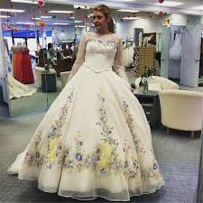 cinderella wedding dresses charming cinderella wedding dresses handmade flowers embroidery