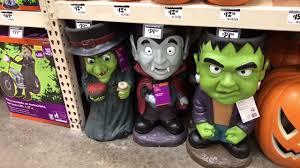Home Depot Decorations Halloween 2017 Home Depot In Store Walk Through Merchandise