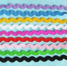 ric rac ribbon zig zag ric rac lace ribbon diy handmade wave lace ribbon for