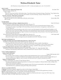Biology Resume Examples by Writing Masters Degree On Resume