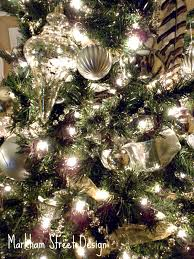 How To Decorate A Christmas Tree With Ribbon Garland Laura Orr Interiors Deck The Halls O Christmas Tree