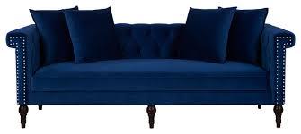 Modern Chesterfield Sofa by Jasmine Sofa Modern Sofas By Jennifer Taylor Home