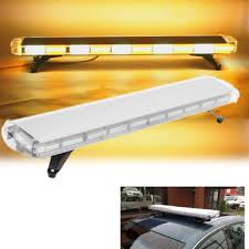 warning lights for sale 47inch yellow white 88 led emergency flash warning light bar