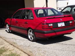 red volkswagen passat 1992 volkswagen passat specs and photos strongauto