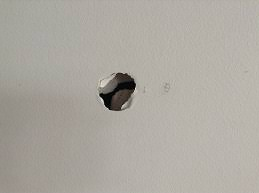 Repair Ceiling Hole by How To Repair A Hole In A Plaster Wall Selleys Australia