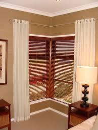 windows window treatments for corner windows ideas curtains corner
