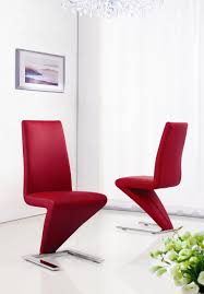 red modern dining chairs red modern dining chairs modern z leather dining chair