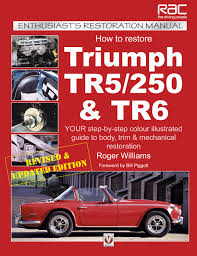 triumph tr6 repair operation manual workshop manual official