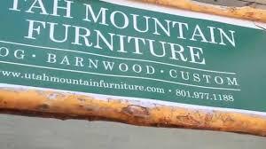 Utah Mountain Furniture YouTube - Green mountain furniture