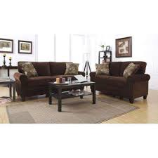 Oversized Loveseat With Ottoman Sofas U0026 Loveseats Living Room Furniture The Home Depot