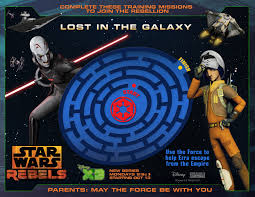 Join The Rebellion Star Wars Rebels Activity Sheets