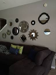 Mirror Collage Wall 153 Best Wall Decor Images On Pinterest Home Mirror Mirror And Live