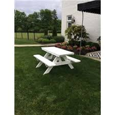 Poly Picnic Tables by Poly Lumber City Style Picnic Table