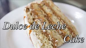 dulce le leche cake recipe food for health recipes