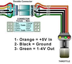 electric scooter throttle wiring diagram circuit and schematics