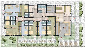Apartment Floor Plans Designs Inspiration Decor Decor Apartment Building Plans Townhouses