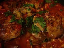 cuisiner des crepinettes crepinettes de porc mijotees champignons tomates du jardin et
