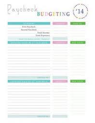 free printable budget worksheets u2013 download or print budgeting