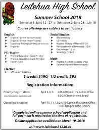 online geometry class for high school credit summer school 2018 academics leilehua high school