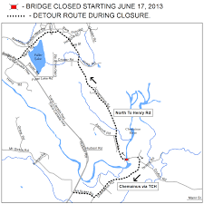 Trans Canada Highway Map by Road Closures Municipality Of North Cowichan