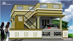 home design plans india single floor house plan and elevation 1290